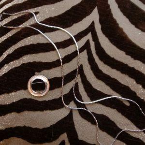 Trifari Silver tone Jewelry 2 pieces